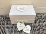Shabby Personalised Chic In Memory Of A BROTHER Loved One Keepsake Box ANY NAME - 332867356359